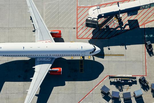 Airport ground operation efficiency analysis