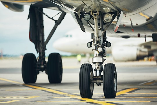 Undercarriage of aircraft during high intensity operations